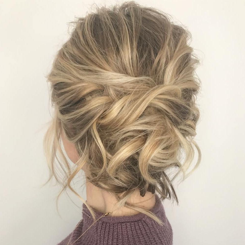 60 Trendiest Updos For Medium Length Hair (View 7 of 20)
