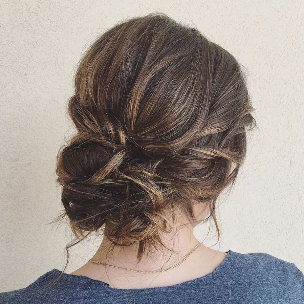 60 Trendiest Updos For Medium Length Hair (View 10 of 20)