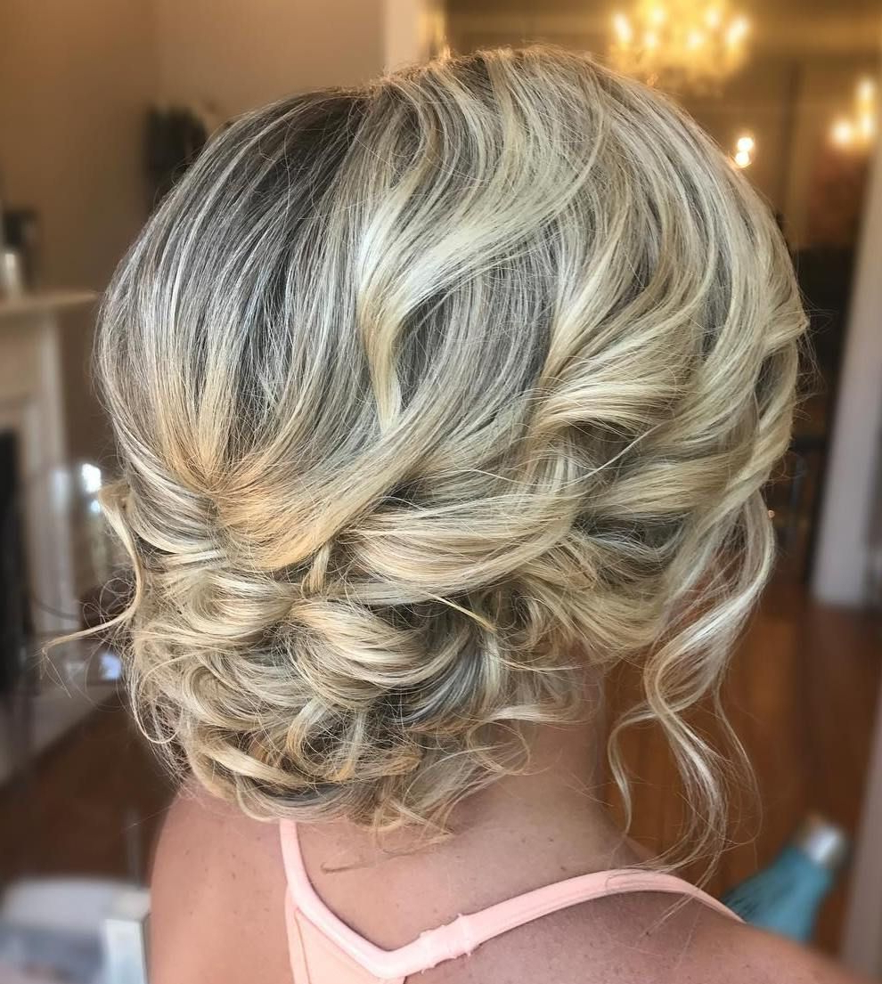 60 Trendiest Updos For Medium Length Hair In  (View 3 of 20)