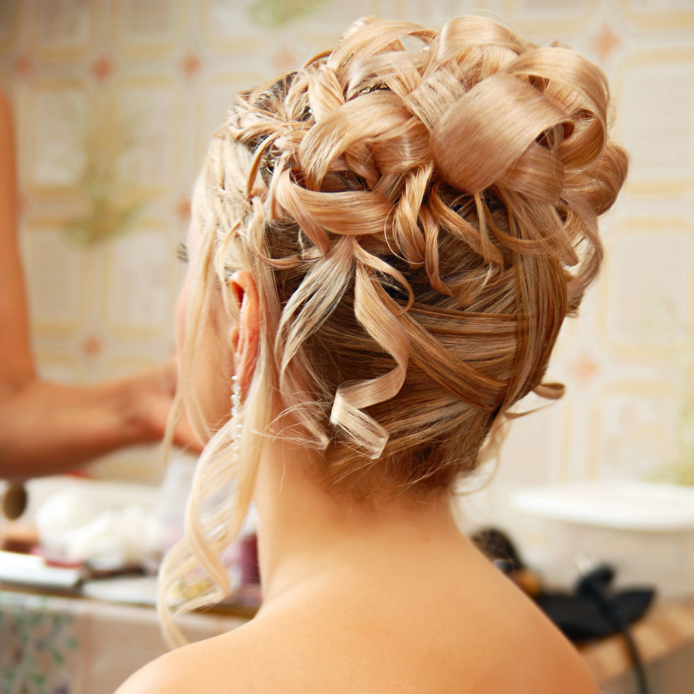 75 Stunning Wedding Hairstyles For Women In 2019 Pertaining To Well Known Embellished Caramel Blonde Chignon Bridal Hairstyles (View 8 of 20)