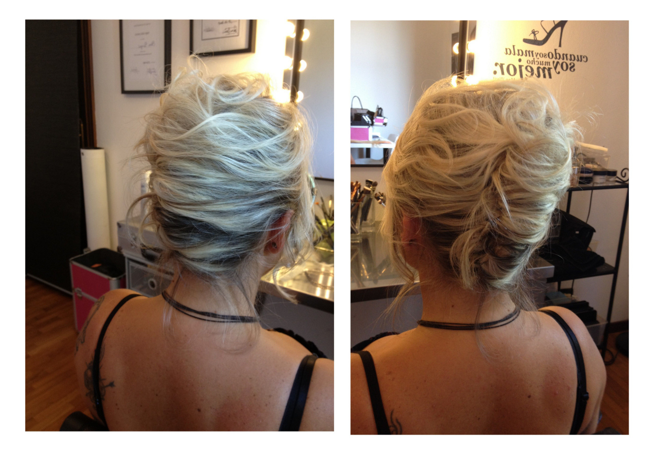 77 Diy Wedding Hairstyles For Long Hair Awesome Bridal Hairstyles Regarding 2017 Messy French Roll Bridal Hairstyles (Gallery 11 of 20)