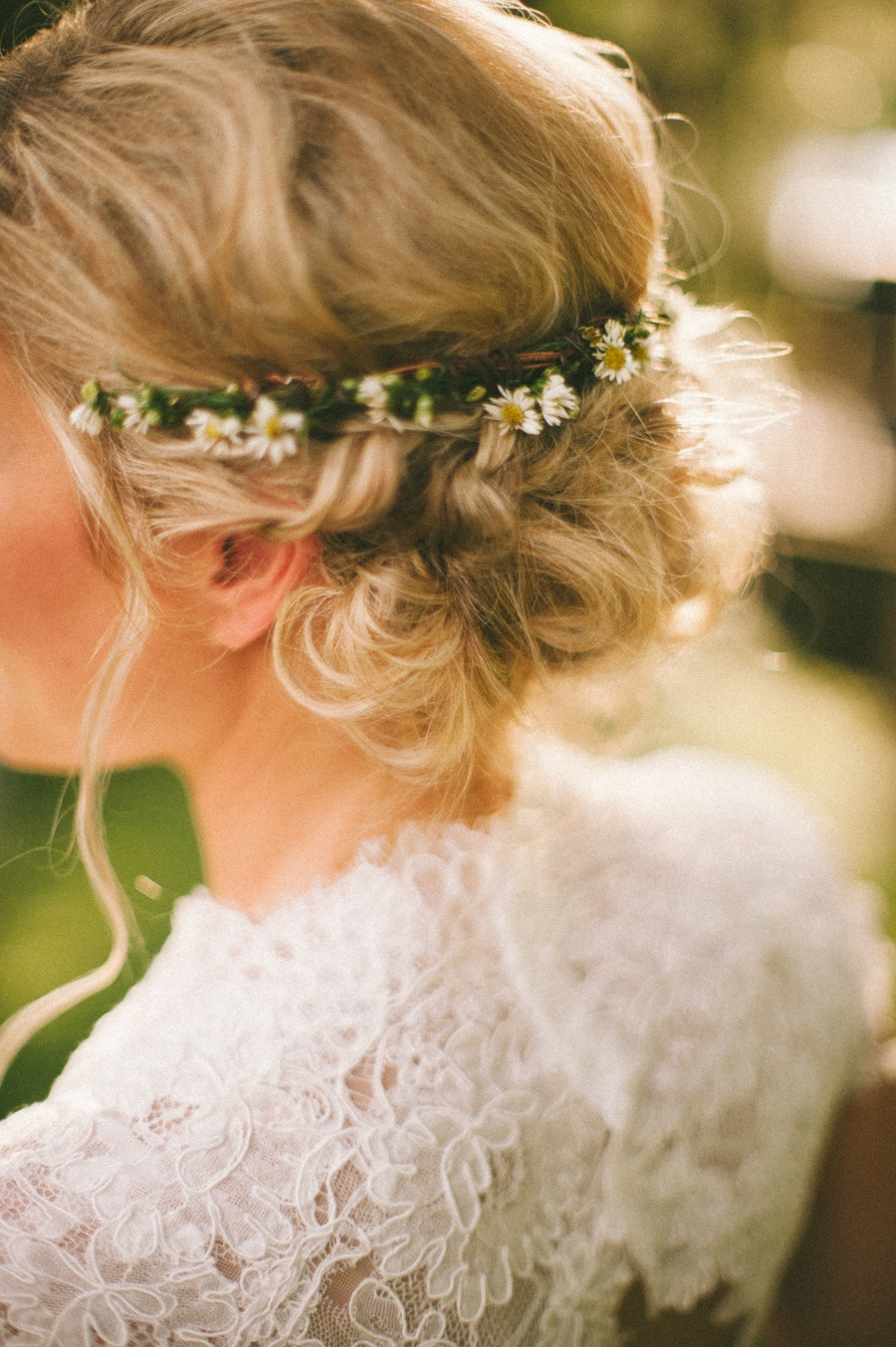 All You Need To Know About Wedding Hairstyles — Wedpics Blog Pertaining To Most Current Floral Crown Half Up Half Down Bridal Hairstyles (Gallery 18 of 20)