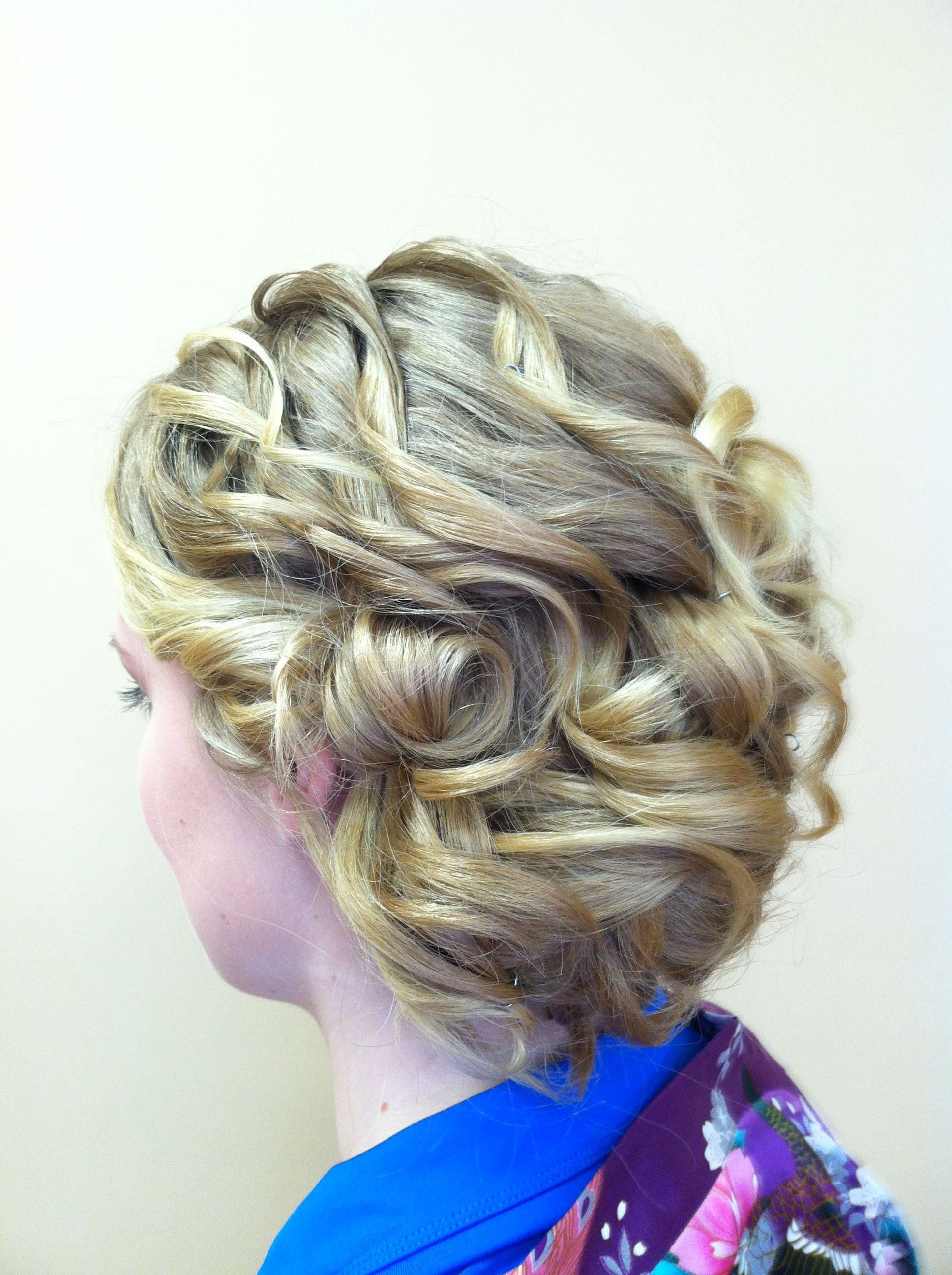 Beautiful Loosely Sectioned Special Occasion Hair For Bridal … (View 3 of 20)