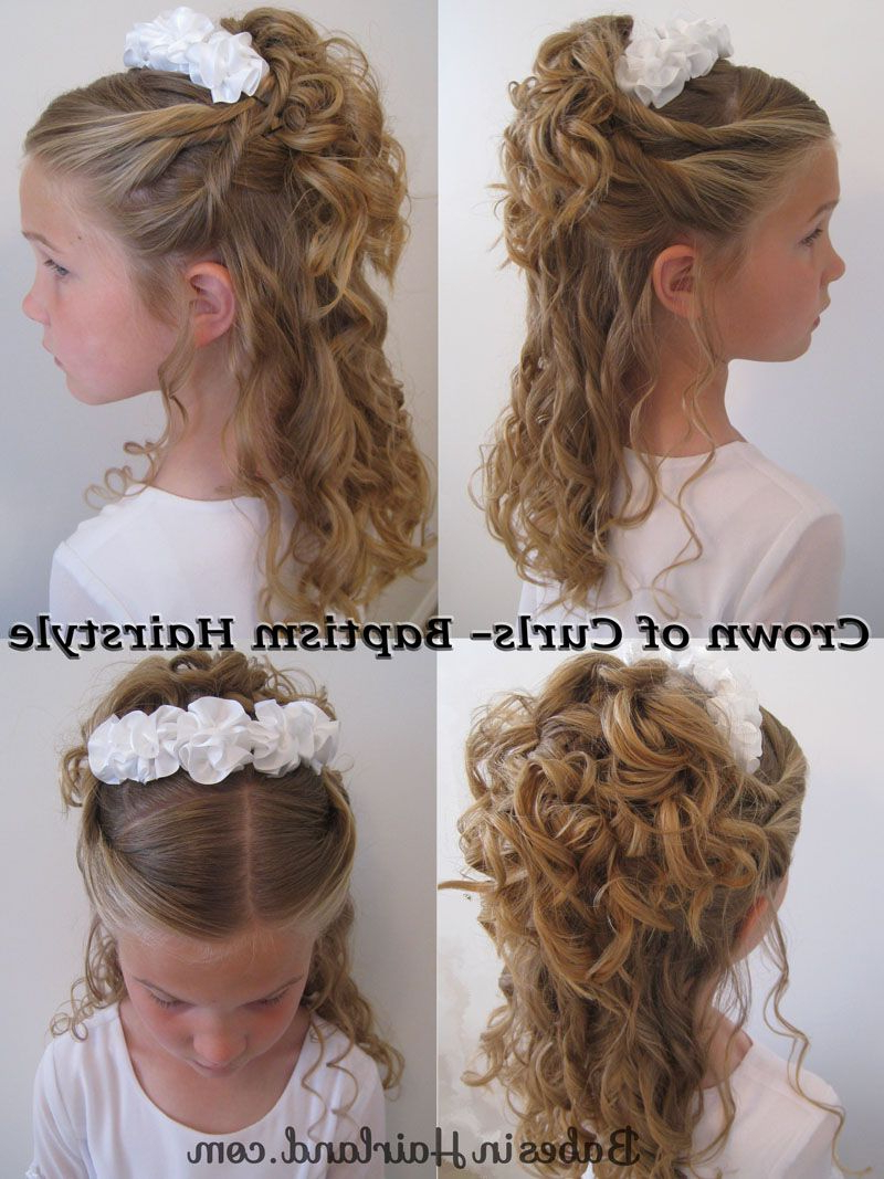 Best And Newest Pile Of Curls Hairstyles For Wedding Pertaining To Pile Of Curls & A Headband (View 4 of 20)