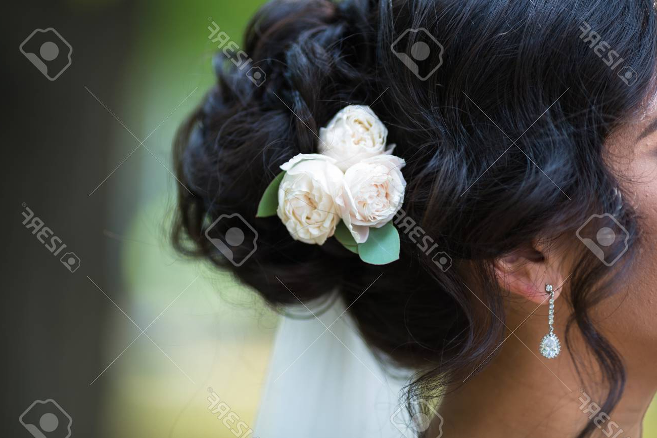 Black Wedding Hair Styling (View 7 of 20)