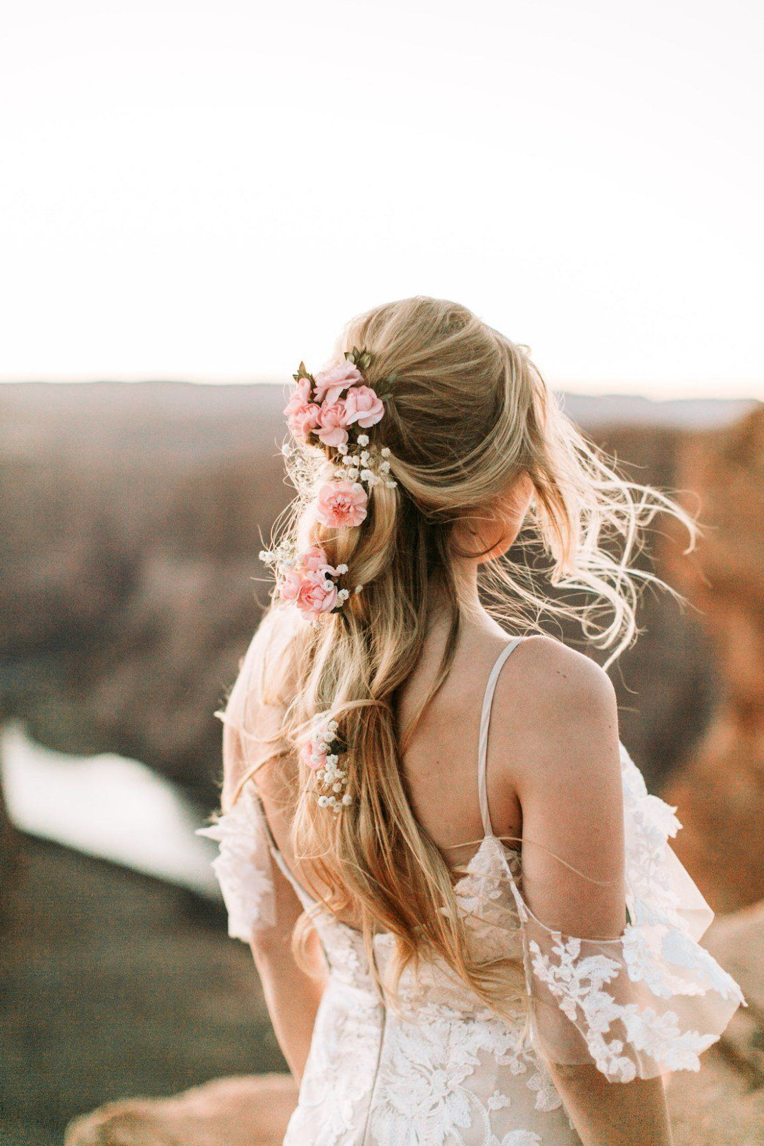 Featured Photo of Bohemian And Free Spirited Bridal Hairstyles