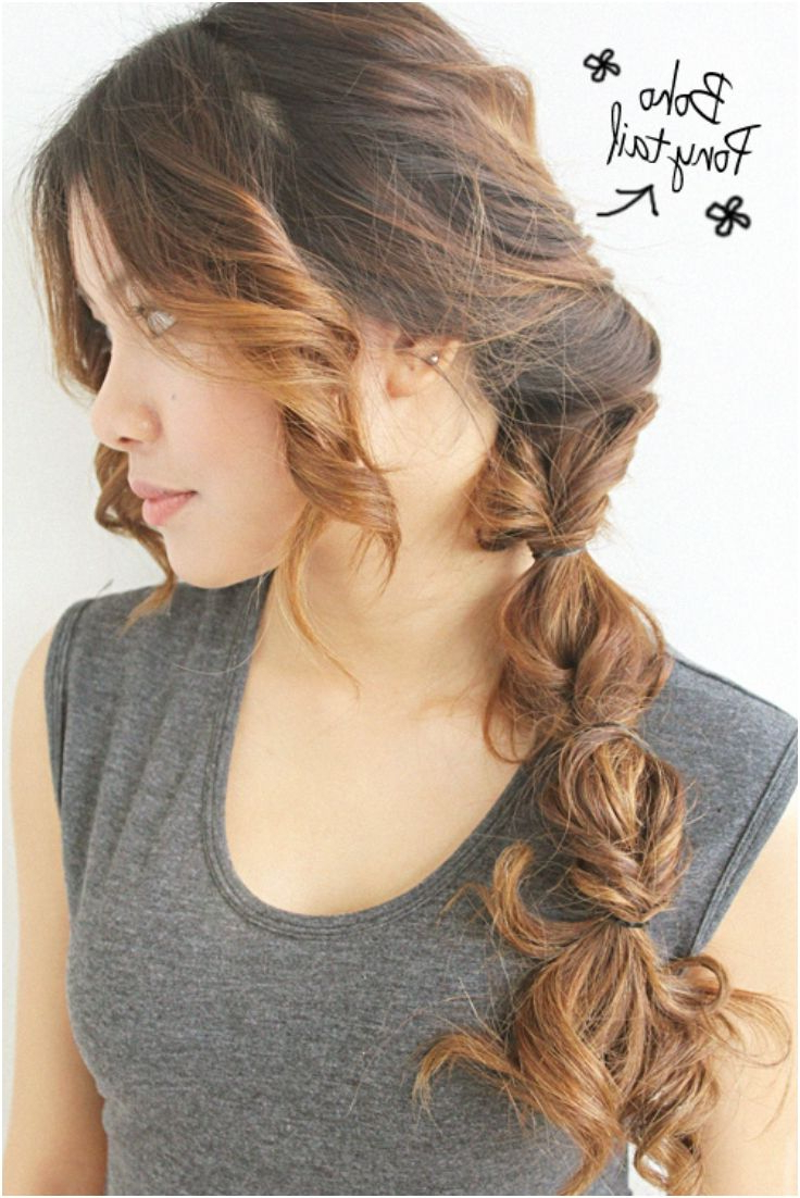 Boho For Popular Fancy Flowing Ponytail Hairstyles For Wedding (View 4 of 20)