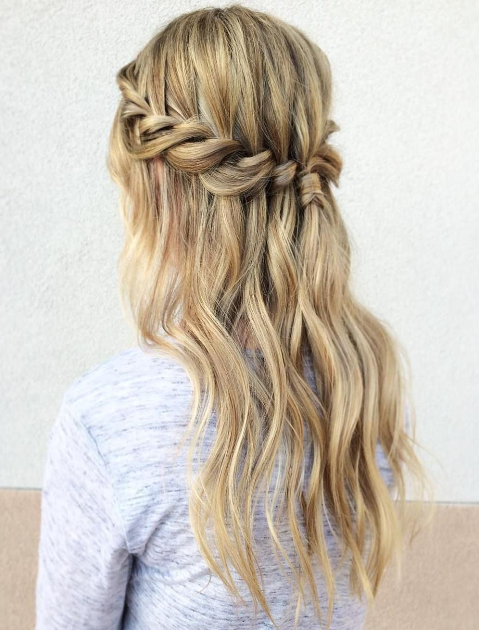Braids, Hair, Hair With Regard To Widely Used Fancy Flowing Ponytail Hairstyles For Wedding (View 6 of 20)