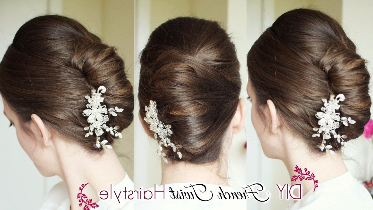 Braidsandstyles12 In Well Liked Messy French Roll Bridal Hairstyles (View 6 of 20)