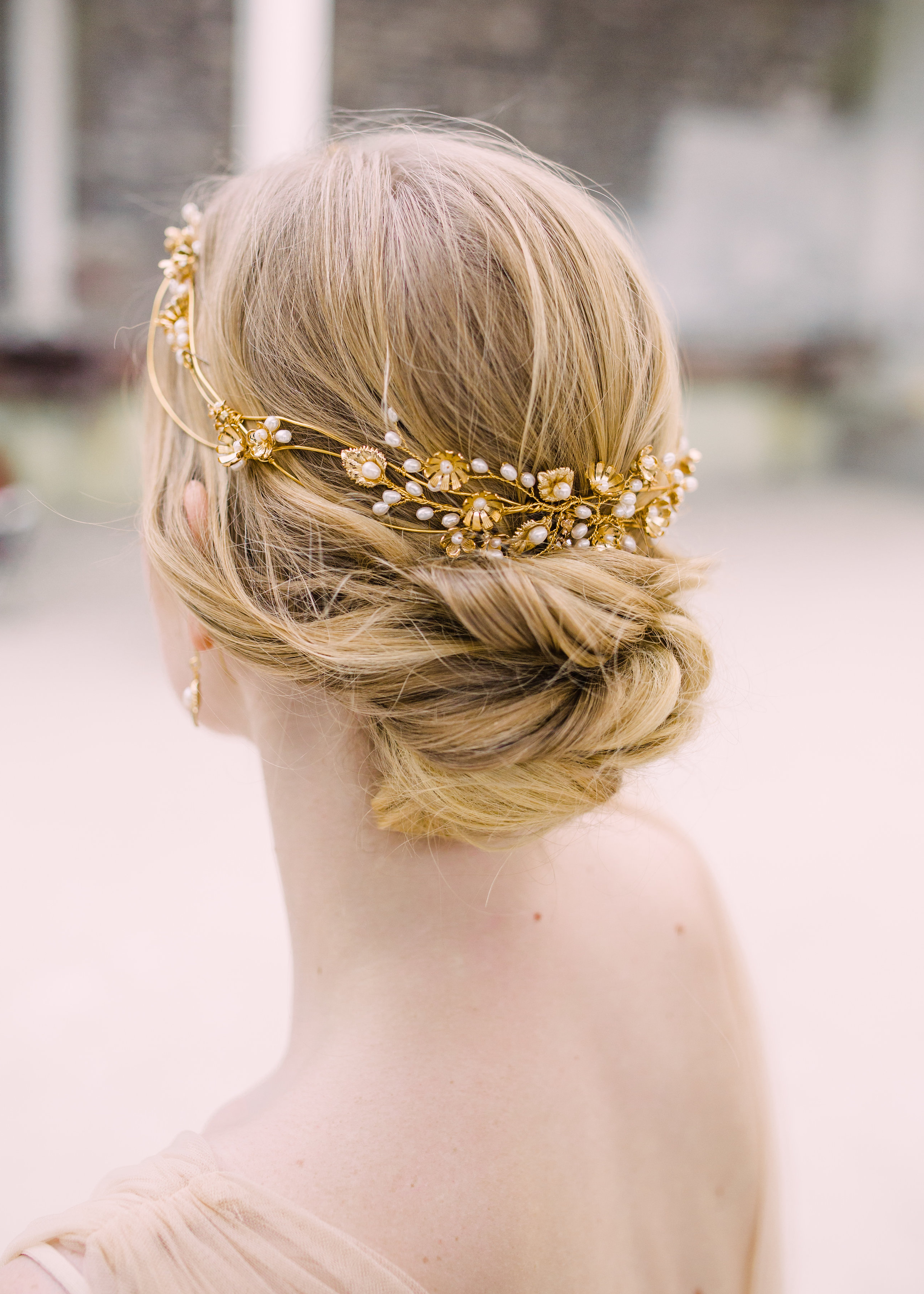 Bridal Hair Accessories: Accessorise Your Wedding Hairstyle – Hair Within Favorite Embellished Twisted Bun For Brides (View 8 of 20)