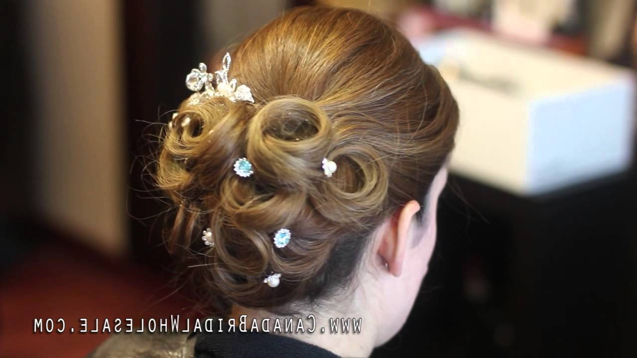 Bridal Hair Pins How To Up Do (View 18 of 20)