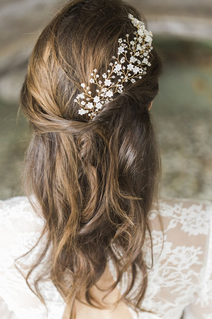 Bridal Hair Vines & Combs (View 8 of 20)