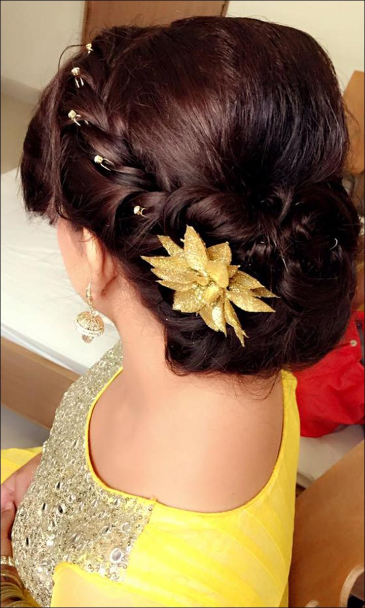 Bridal Hairstyles: 38 Gorgeous Looks For This Wedding Season With Well Known Messy French Roll Bridal Hairstyles (View 10 of 20)