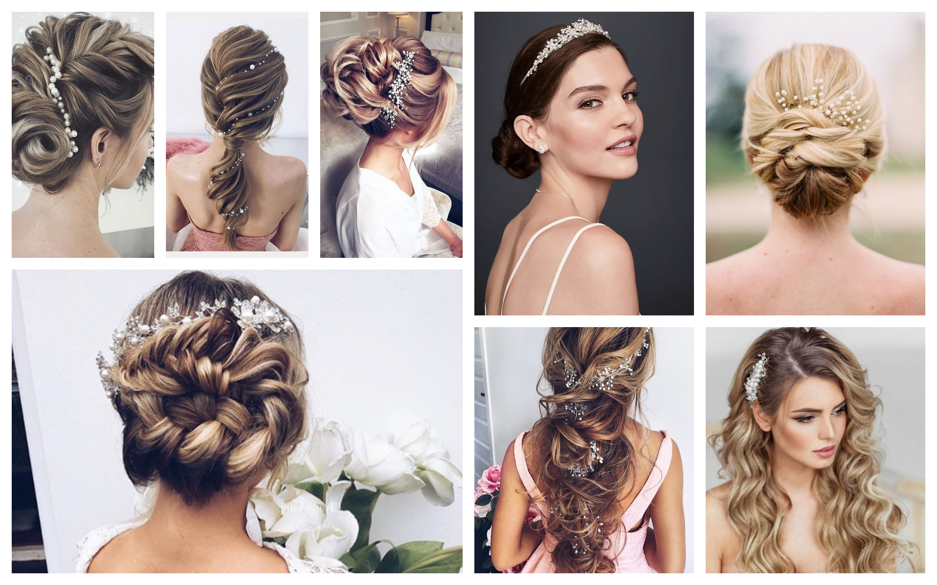 Bridal Pearl Hairstyles That Will Make You Look Absolutely Beautiful Inside Current Pearls Bridal Hairstyles (View 5 of 20)