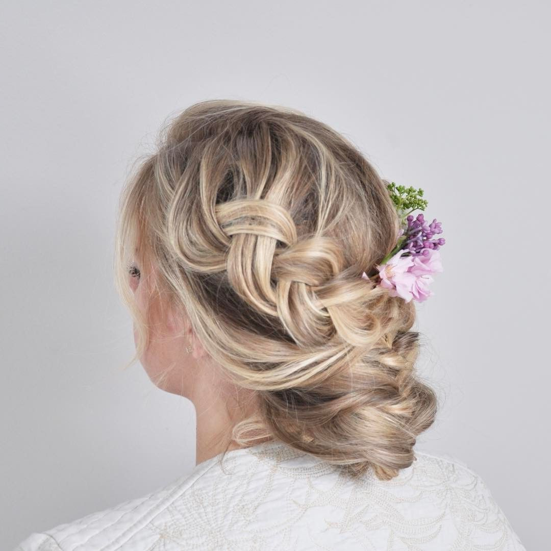 Bridal Wedding Hairstyle With Some 🌺 @nicoledrege (View 4 of 20)