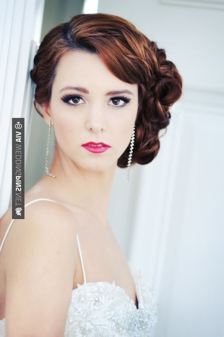 Featured Photo of Vintage Asymmetrical Wedding Hairstyles