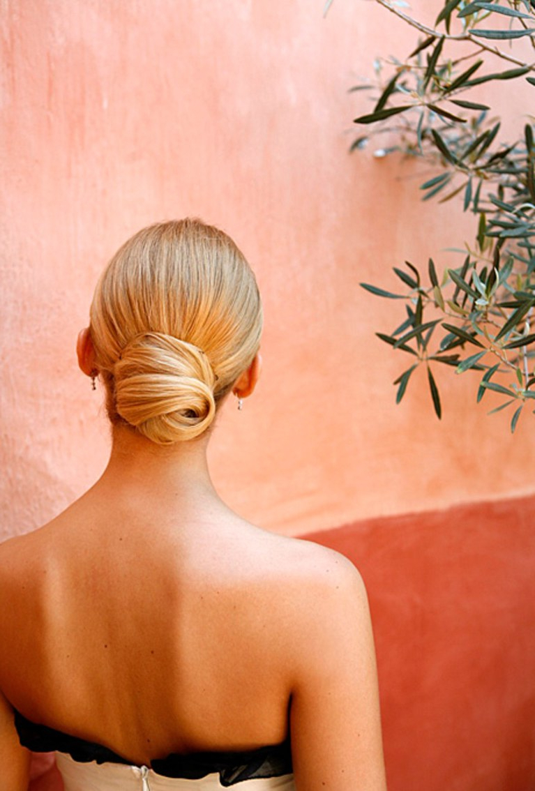 Brides Inside Popular Wedding Low Bun Bridal Hairstyles (View 9 of 20)