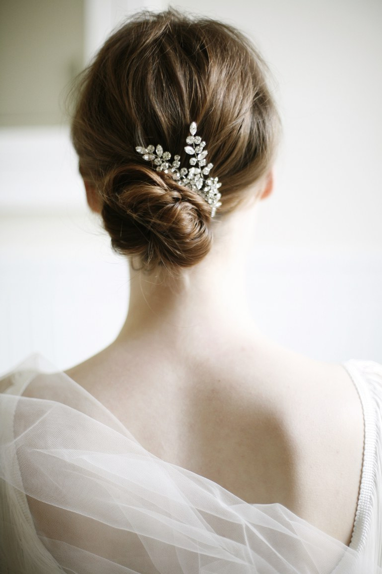 Brides Throughout Preferred Messy Bridal Updo Bridal Hairstyles (Gallery 8 of 20)