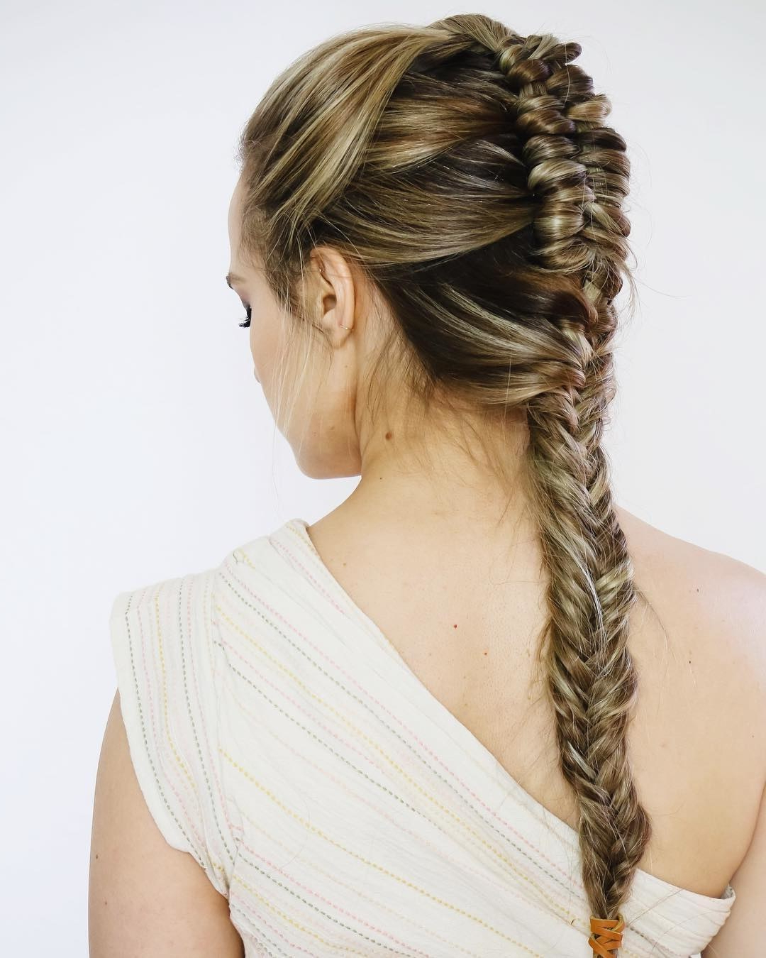 Brides With Best And Newest Braided Lavender Bridal Hairstyles (View 7 of 20)
