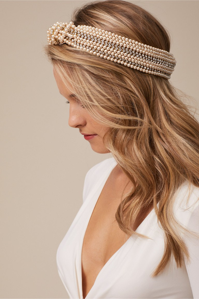 Brides With Well Known Bedazzled Chic Hairstyles For Wedding (View 8 of 20)