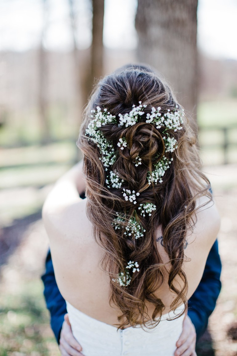 Brides Within 2018 Wild Waves Bridal Hairstyles (View 8 of 20)