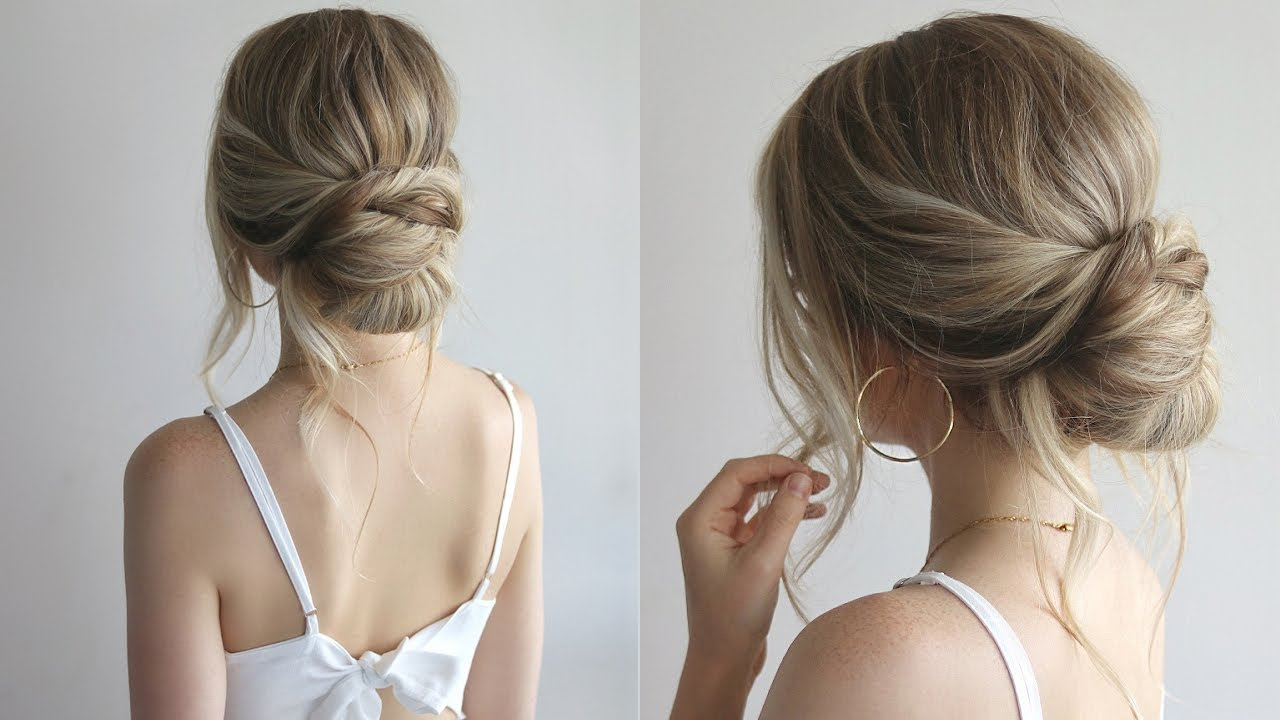 Bridesmaid Hairstyles 2018 – Youtube (View 5 of 20)