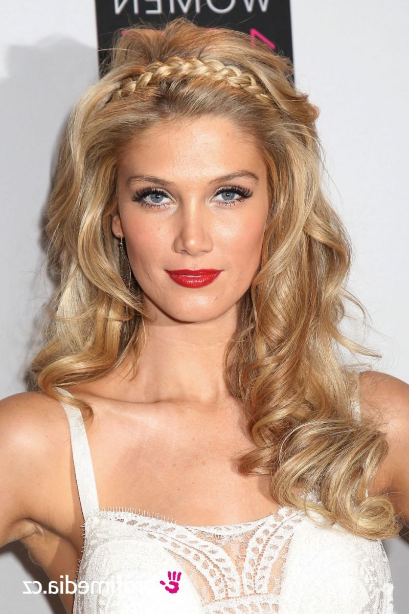 Celebrity Inspiration: 5 Bridal Hairstyles (View 9 of 20)