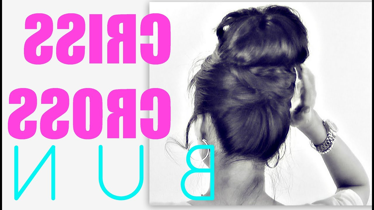 Criss Cross Updos For Medium Long Hair (View 10 of 20)