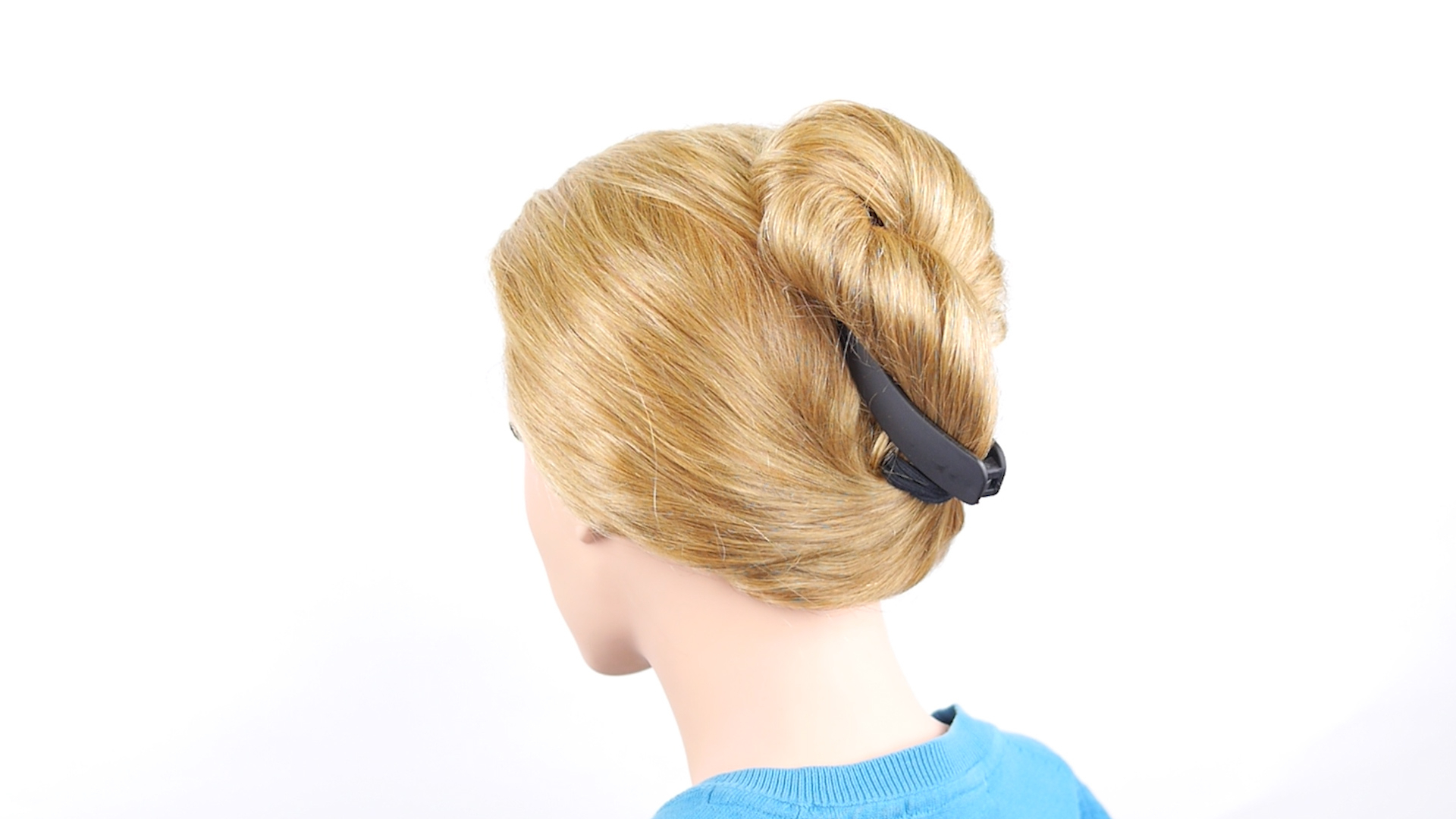 Current Messy French Roll Bridal Hairstyles Throughout 3 Ways To French Twist Hair – Wikihow (View 17 of 20)