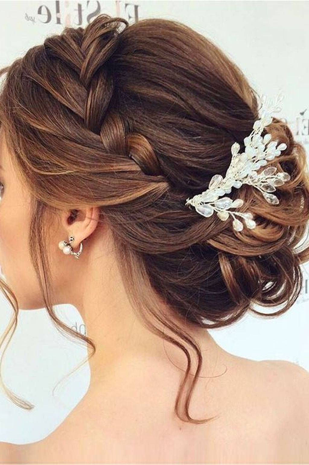 Current Sectioned Twist Bridal Hairstyles Pertaining To 135 Stunning Bohemian Wedding Hairstyle Ideas Every Women Will Love (View 4 of 20)