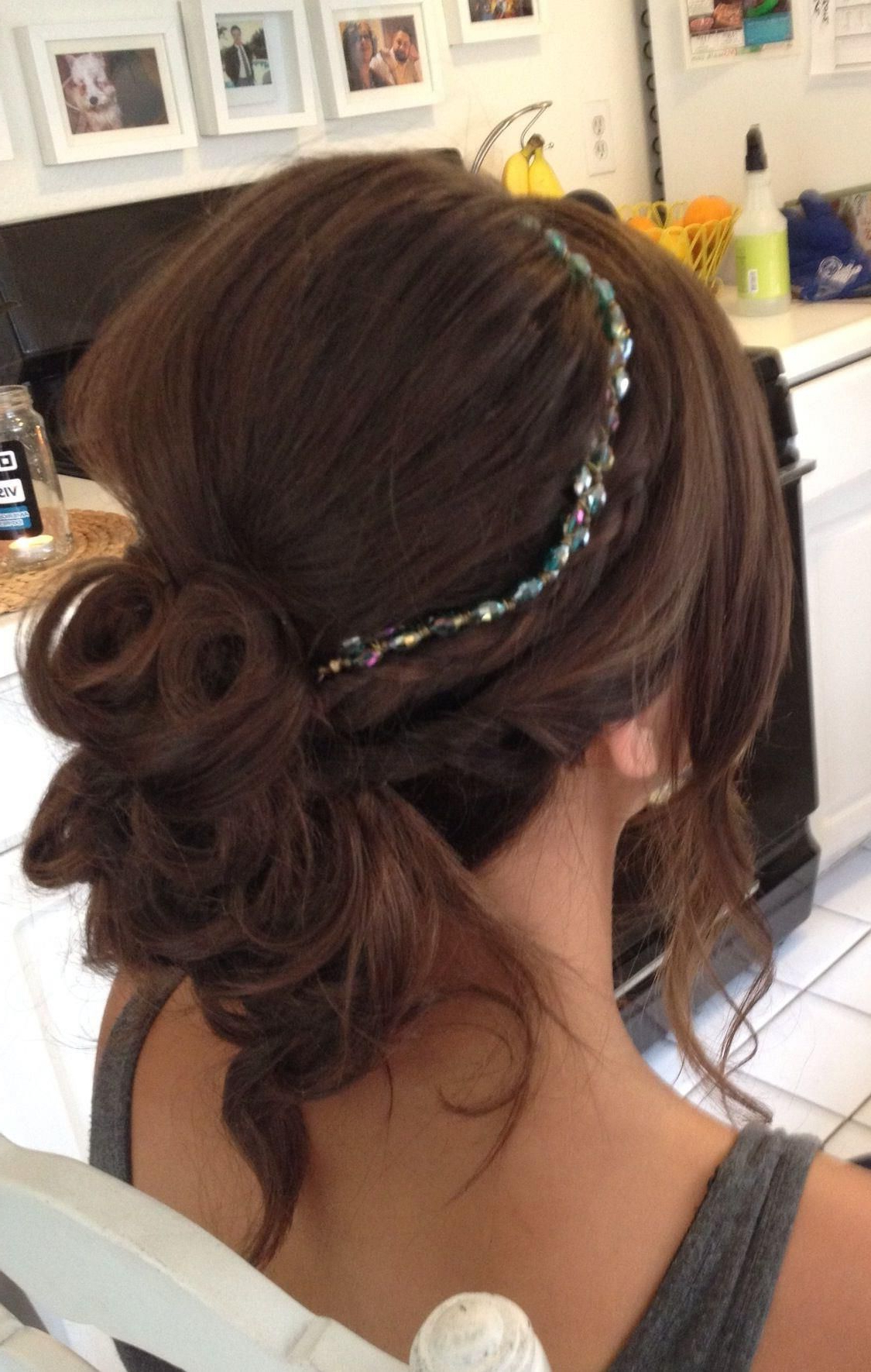 Current Soft Wedding Updos With Headband For Soft Low Updo With Headbandlisa Leming (View 9 of 20)