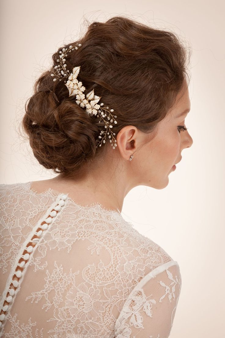 Current Swirled Wedding Updos With Embellishment With 20 Stunning Wedding Hair Updos To Inspire Every Bride – Hairstylevill (View 13 of 20)
