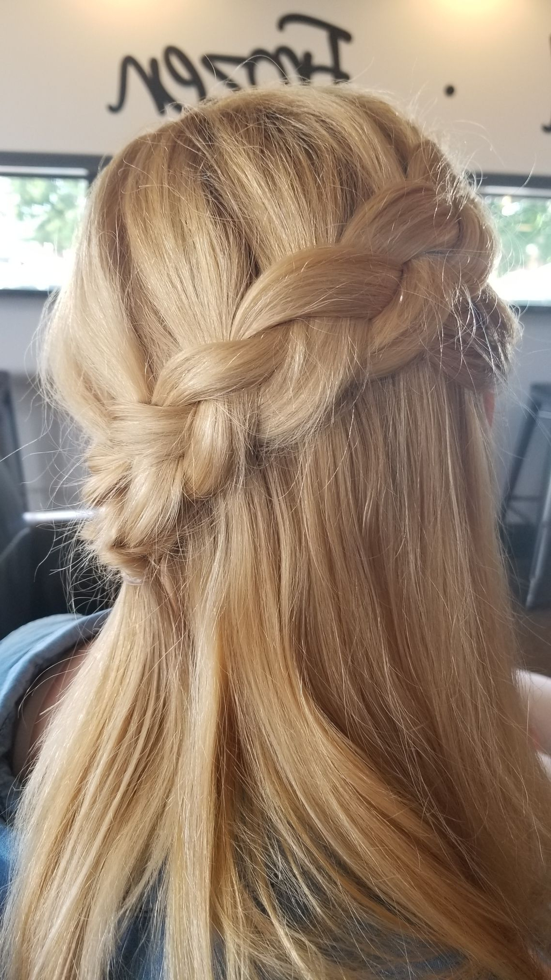 Diagonal Braid Hairstyle (Gallery 4 of 20)
