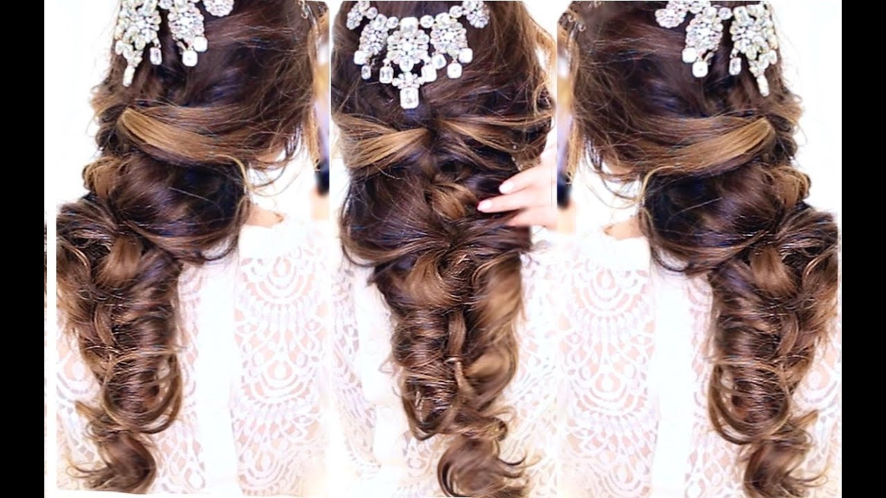 Featured Photo of Criss Cross Wedding Hairstyles