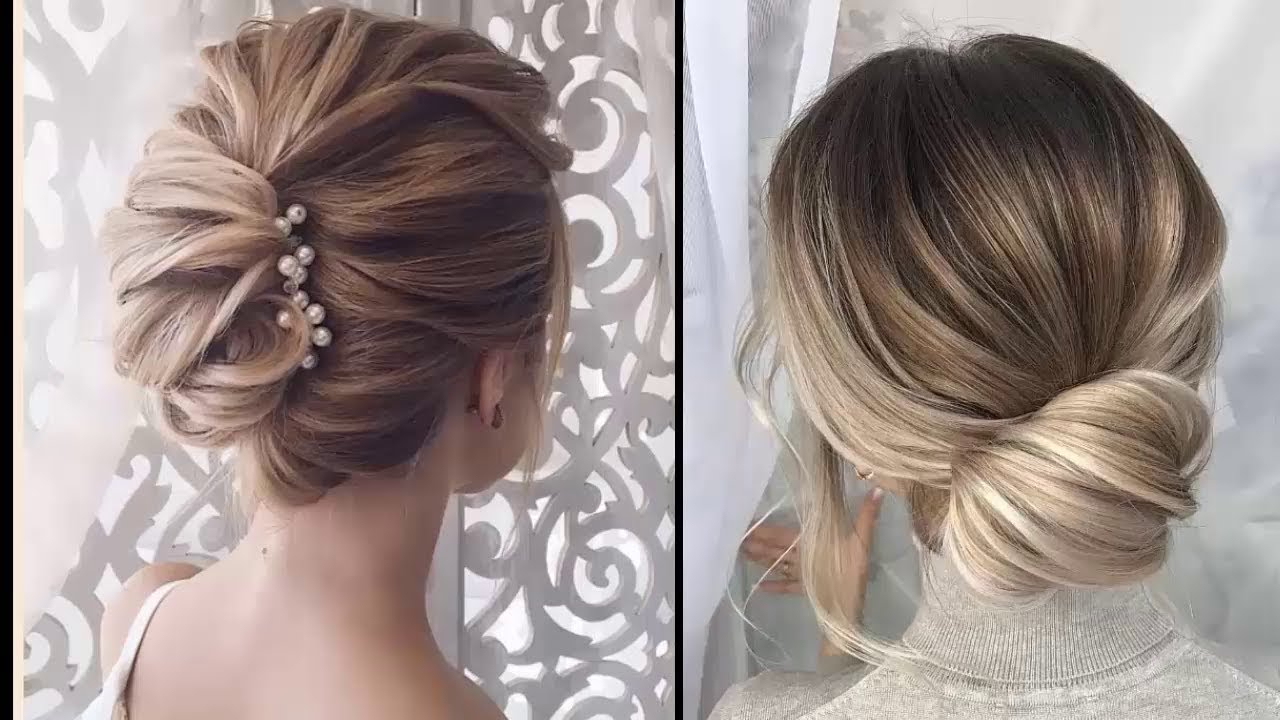 Easy Elegant Updos For Thin Hair – Easy Prom Hairstyles For Short Regarding Well Known Bohemian Braided Bun Bridal Hairstyles For Short Hair (Gallery 10 of 20)