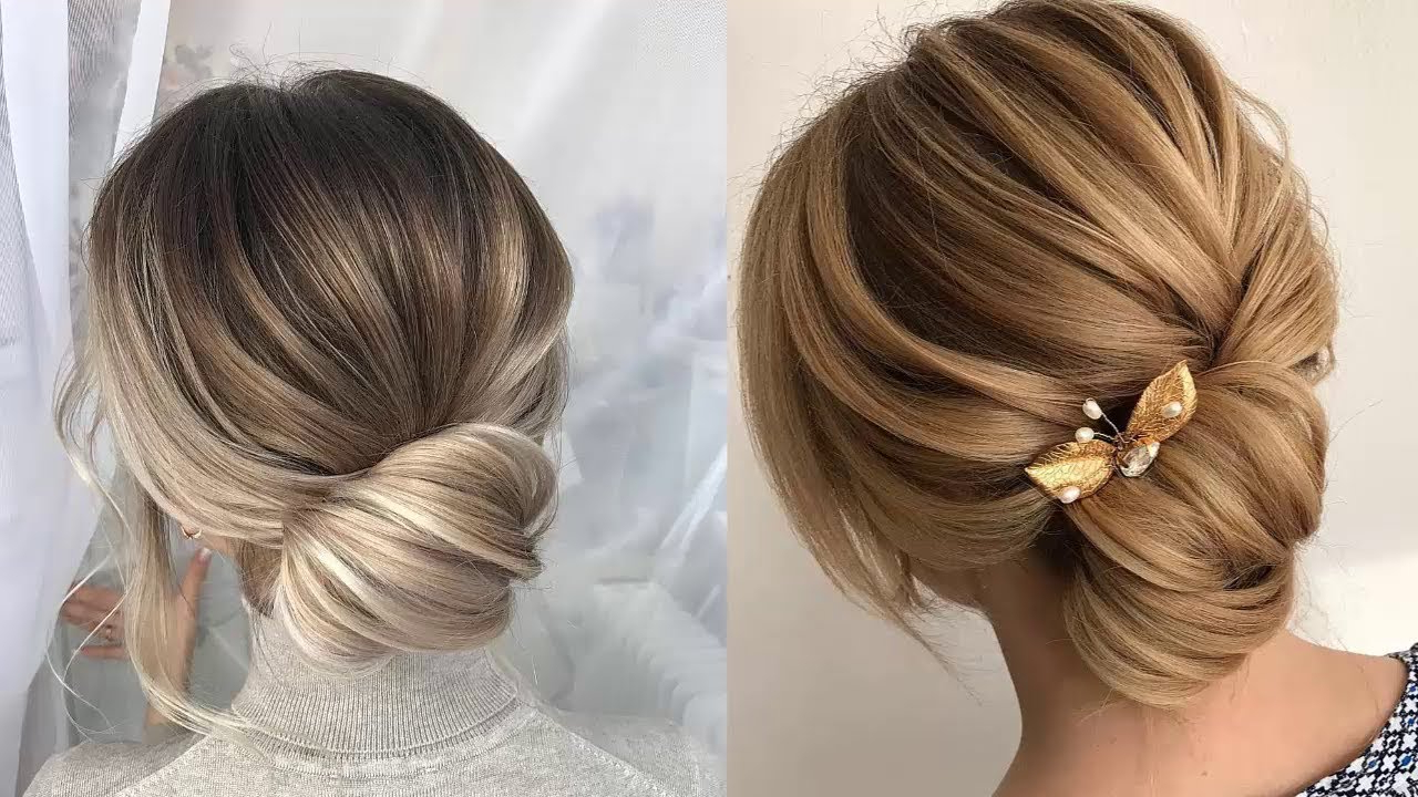 Elegant Low Bun Hairstyles Ideas 2018 Regarding Widely Used Wedding Low Bun Bridal Hairstyles (Gallery 13 of 20)