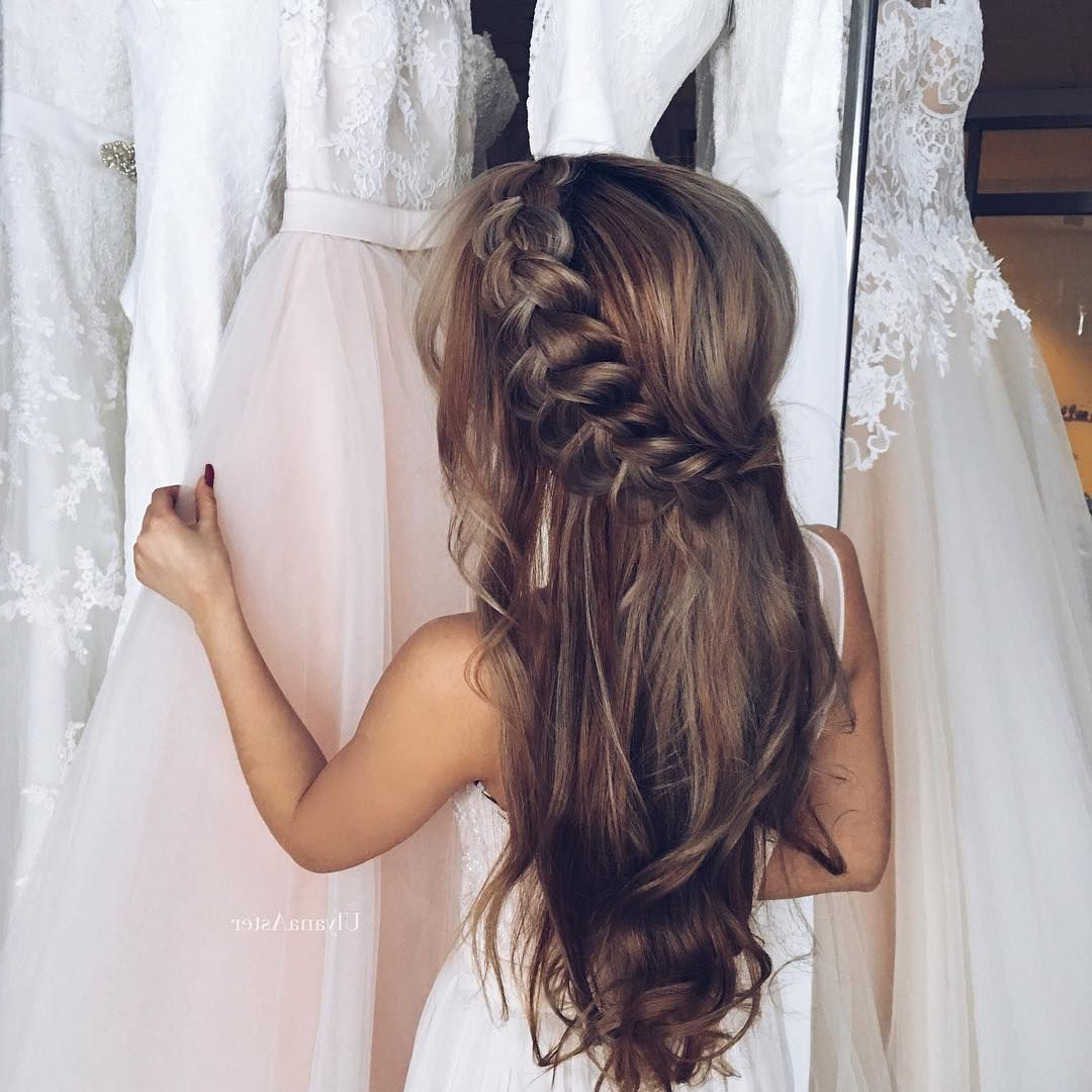 Famous Braided Wedding Hairstyles With Subtle Waves For (View 7 of 20)