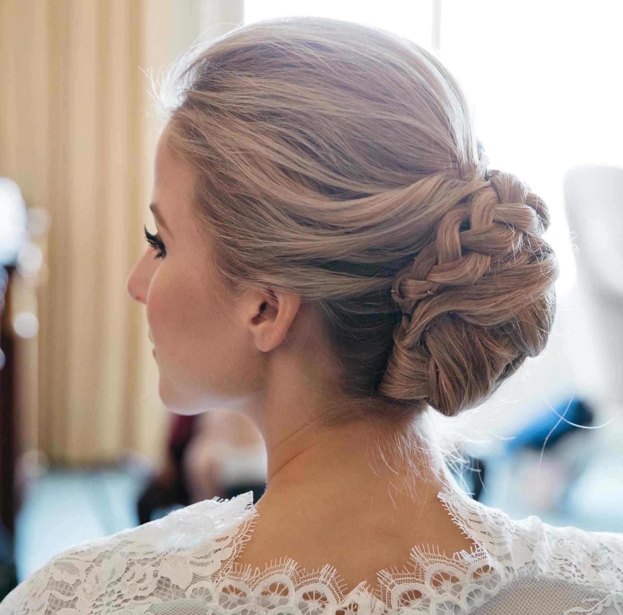 Famous Curly Bridal Bun Hairstyles With Veil Inside Wedding Hairstyles Updo With Veil Curls Up Dos Brides Lovely Braided (Gallery 7 of 20)