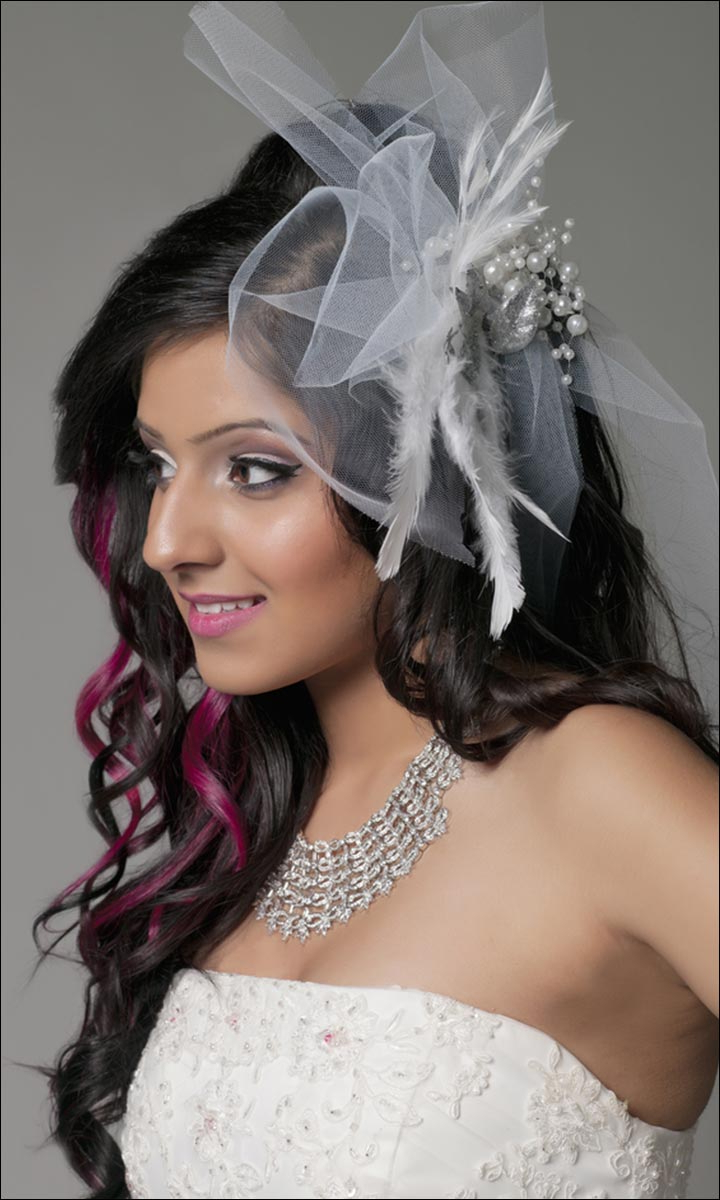 Famous Curly Wedding Updos With A Bouffant Inside Bridal Hairstyles: 38 Gorgeous Looks For This Wedding Season (View 8 of 20)