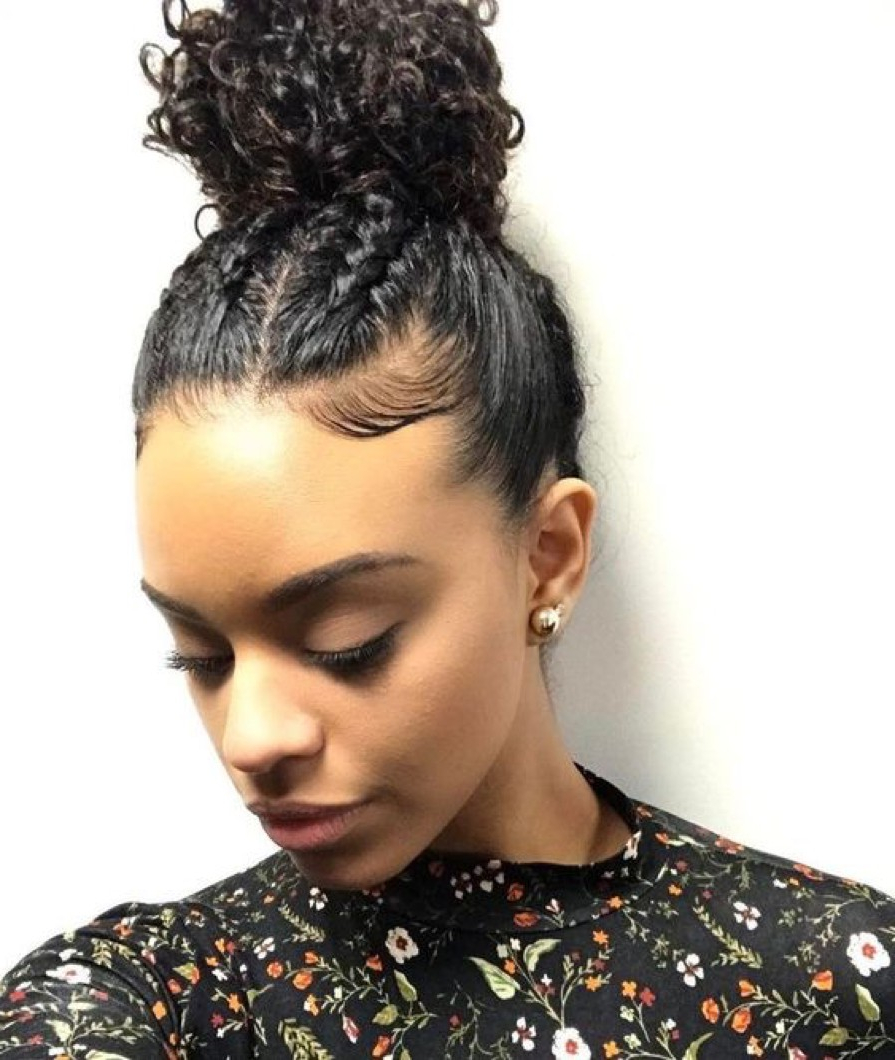 Famous Large Bun Wedding Hairstyles With Messy Curls Intended For Check Out Our 24 Easy To Do Updos, Perfect For Any Occasion (Gallery 13 of 20)