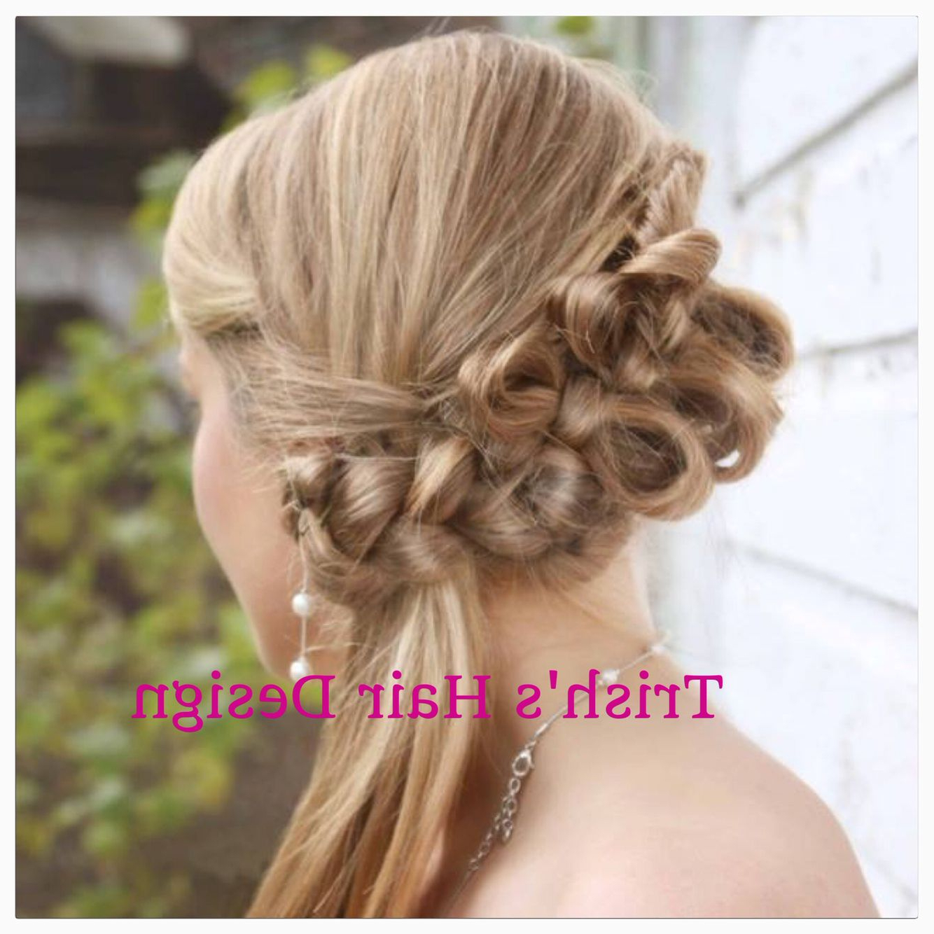 Famous Wedding Updos With Bow Design Within Fun Hair Bowstrish's Hair Design (View 1 of 20)