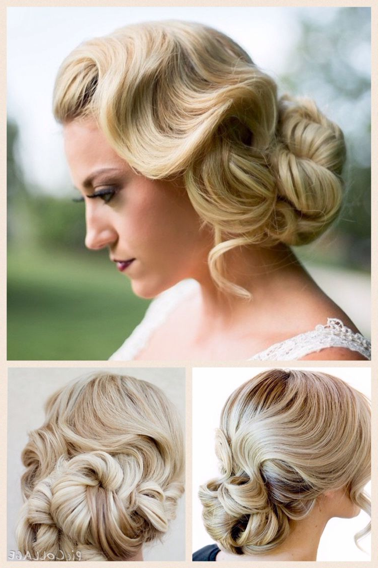 Fashionable Classic Twists And Waves Bridal Hairstyles Pertaining To Backcombed Hairstyle (Gallery 2 of 20)