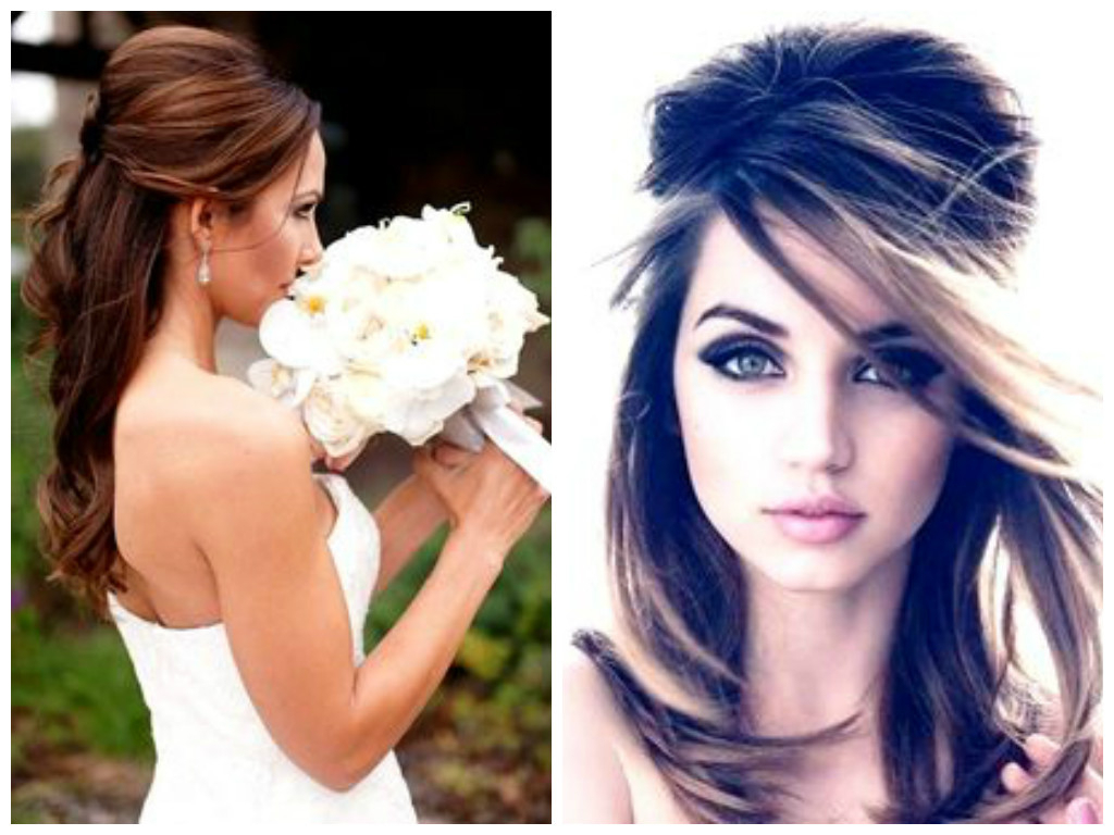 Fashionable Semi Bouffant Bridal Hairstyles With Long Bangs Inside Vintage Hairstyles That Match Your Vintage Dress – Hair World Magazine (View 8 of 20)