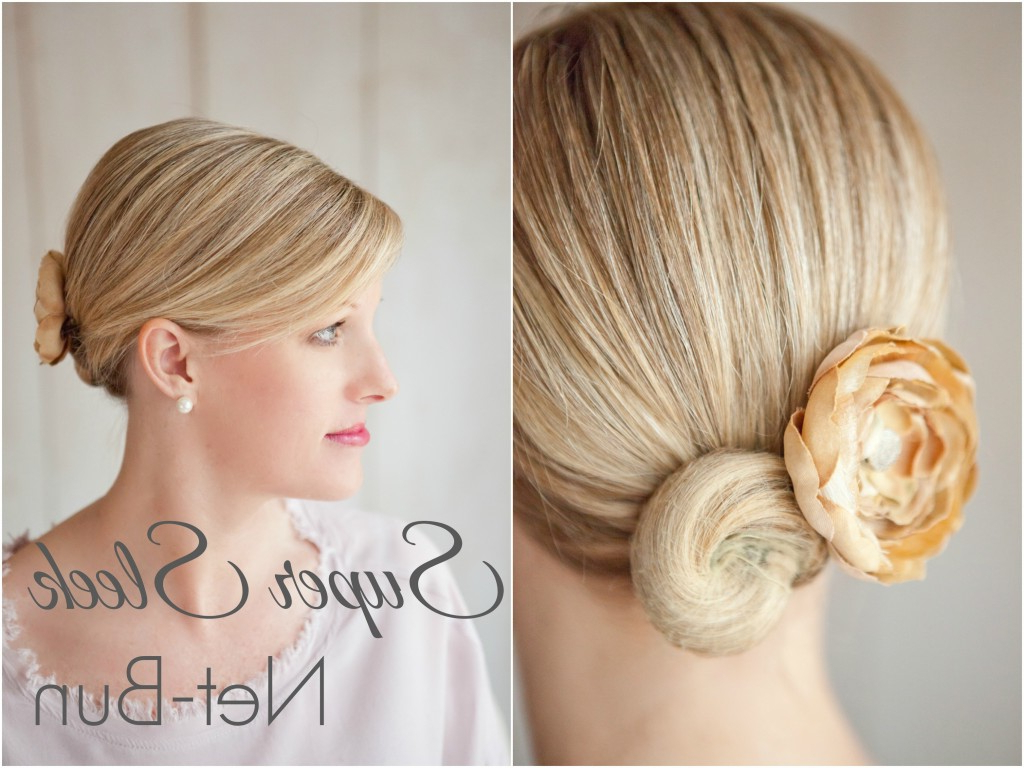 Fashionable Sleek And Simple Wedding Hairstyles Throughout 10 Perfect Wedding Day Hairstyles (View 2 of 20)
