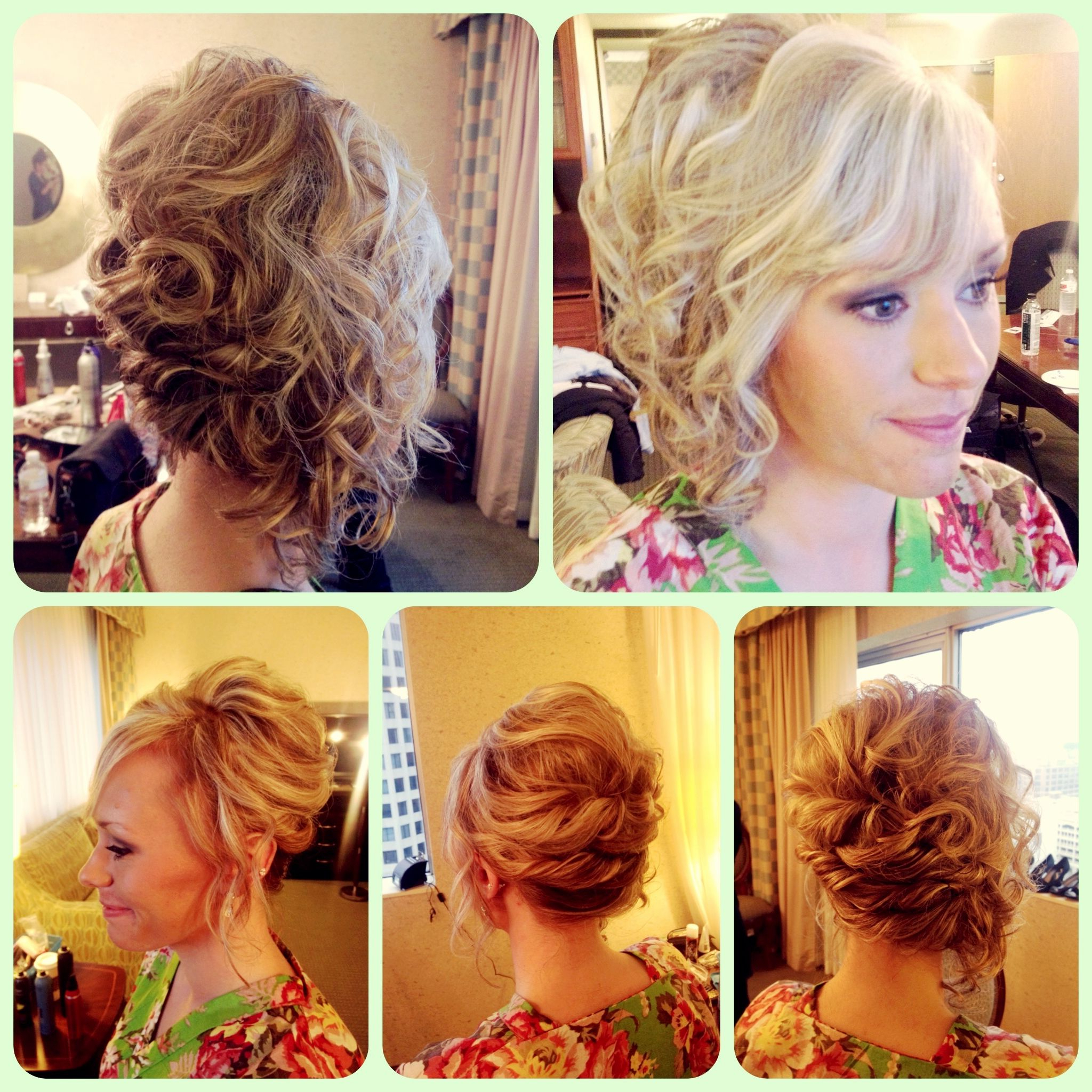 Fashionable Soft Wedding Updos With Headband Intended For Wedding Hairstyle Short Hair Bridal Updo Soft Romantic Loose Style (View 11 of 20)
