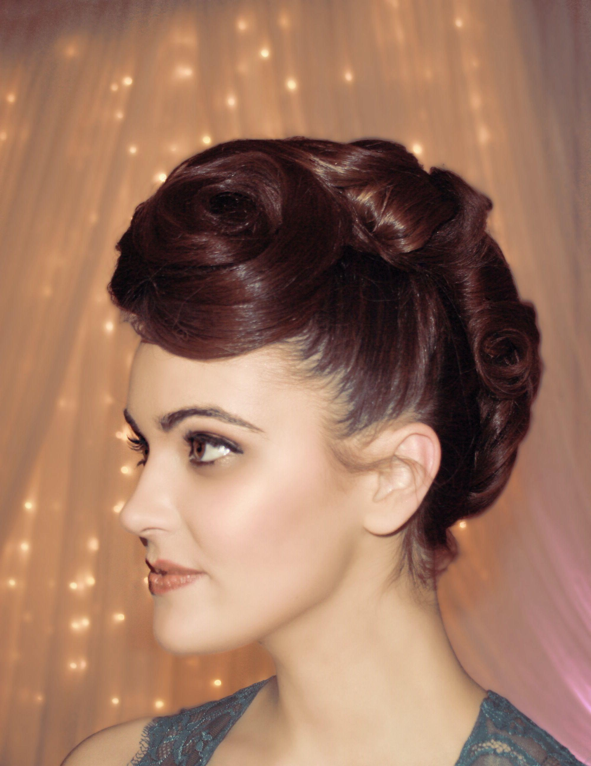 Faux Hawk Bride Bridal Funky Hair Wedding (Gallery 2 of 20)