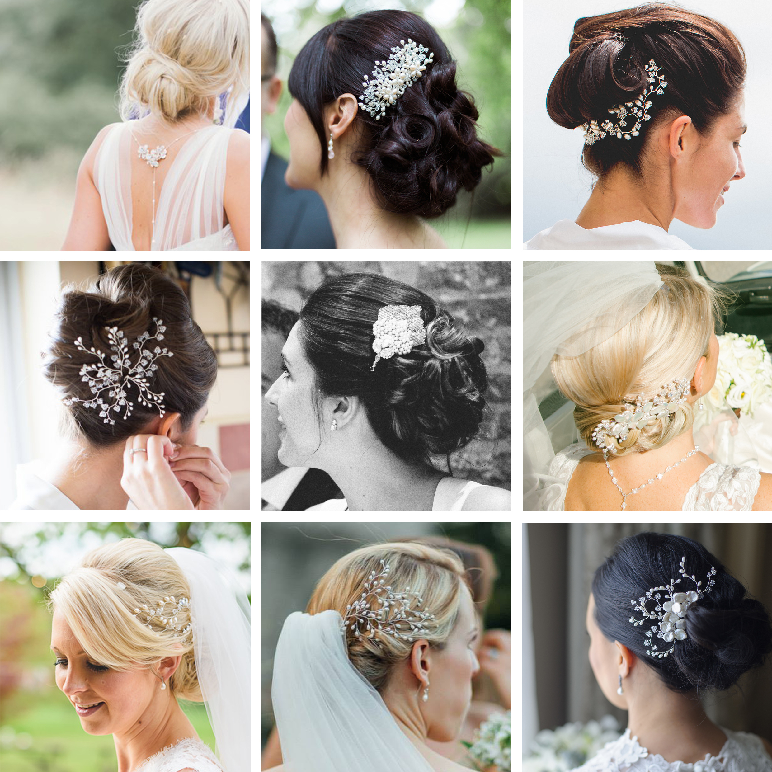 Favorite Bridal Chignon Hairstyles With Headband And Veil Within Wedding Bun Hairstyles – Hair Accessories Blog (View 9 of 20)