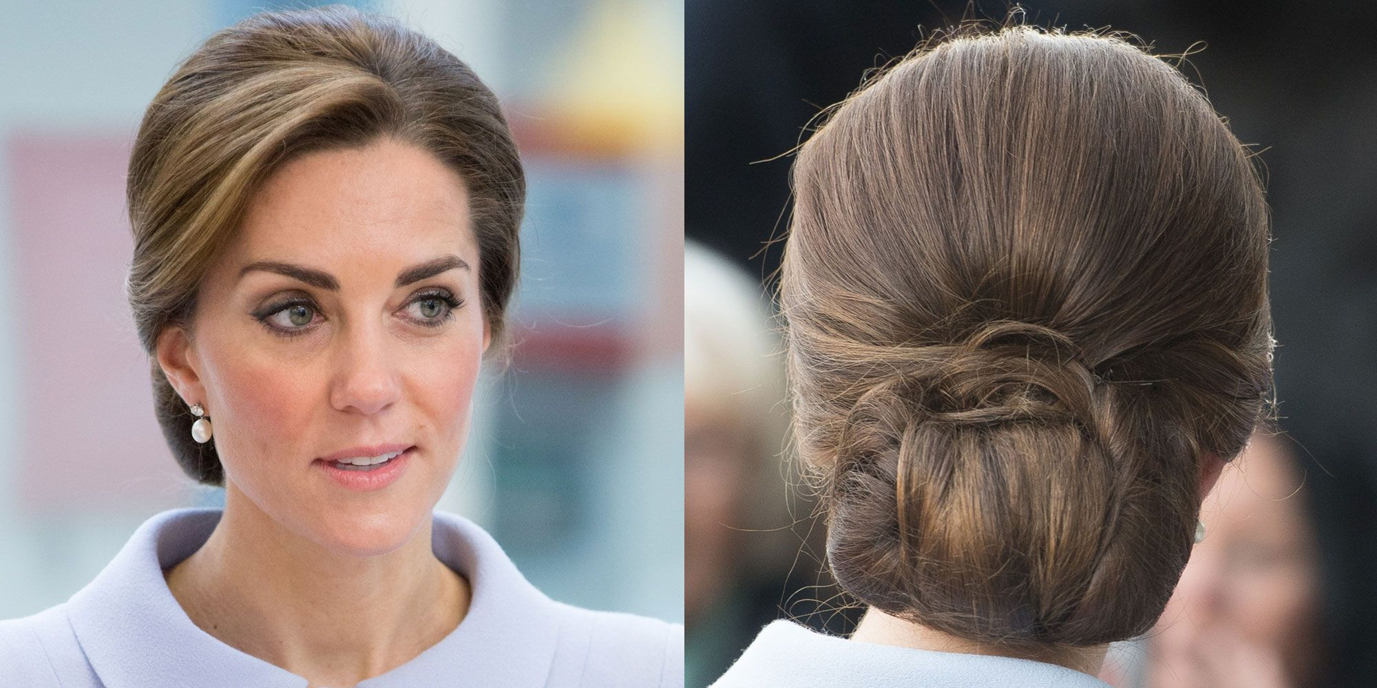 Favorite Destructed Messy Curly Bun Hairstyles For Wedding Intended For Kate Middleton Stealth Wore A Hairnet To Keep Her Hair From Unraveling (View 8 of 20)