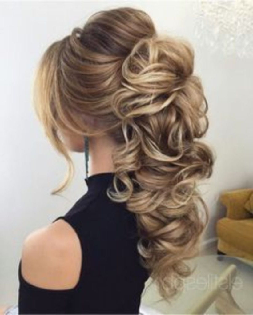 Favorite Fabulous Cascade Of Loose Curls Bridal Hairstyles Inside Trubridal Wedding Blog (View 16 of 20)