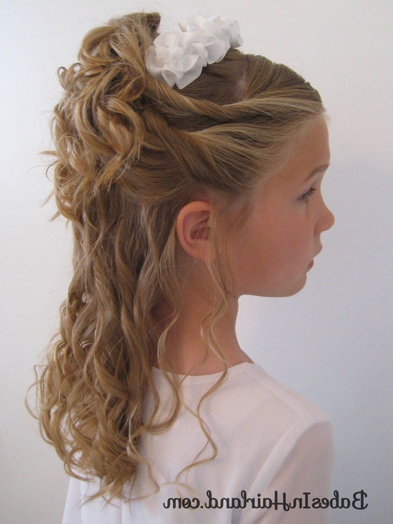 Favorite Loose Updo Wedding Hairstyles With Whipped Curls With Regard To Pile Of Curls & A Headband – Babes In Hairland (View 8 of 20)